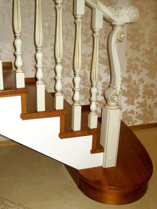 Лестницы из дуба на заказ, купить по цене от 214 тр в